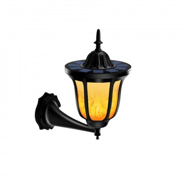 SOLCELLE VEGGLAMPE